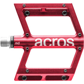 ACROS A-Flat MD Pedals, red